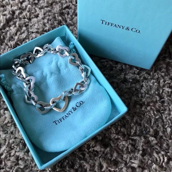 9dbf580e1 Tiffany & Co. Jewelry | Tiffany Co Heart Kink Braceletsold | Poshmark